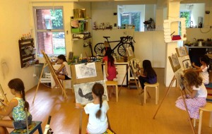 Charcoal drawing (7-9 year olds)